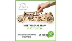 Ugears India Team is meeting friends at ET Tech X 2019 in Hyderabad