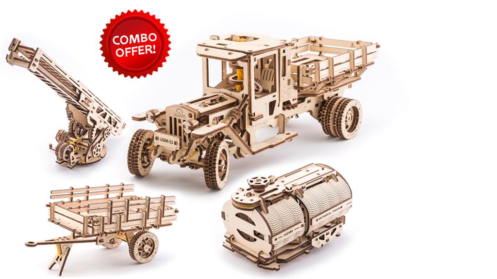 Truck UGM-11 + Set of Additions model kits