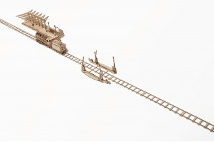 Set of Rails with Crossing